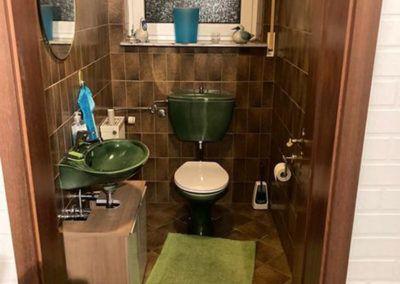 WC vorher – nachher