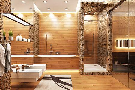 Gegen Kalk und Schimmel im Badezimmer